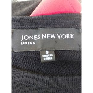 Jones New York Dresses - Black sweater dress size S